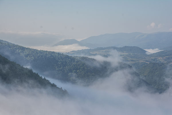 Morgennebel oberhalb Martin Brod