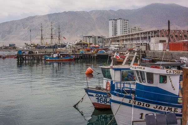 Fischerhafen von Iquique