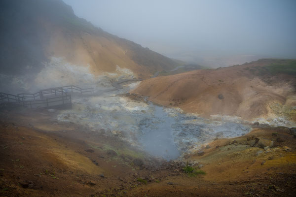 Geothermisches Gebiet Krýsuvík