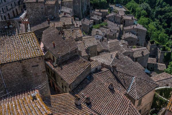 Aussicht vom Masso Leopoldino, Sorano