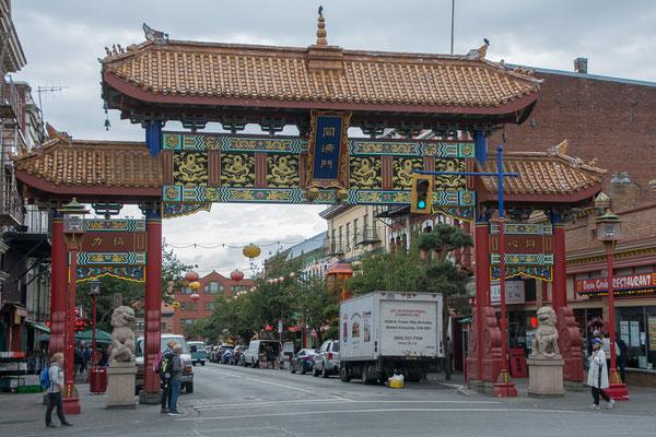 Eingang zur China Town