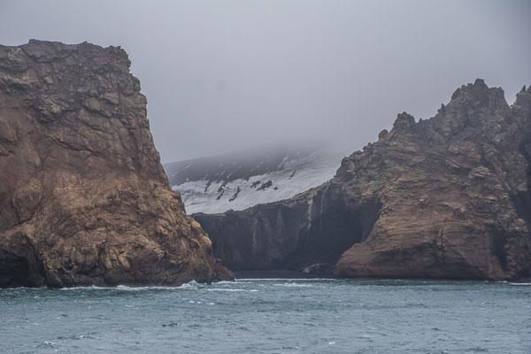 Deception Island, navigieren in einem aktiven Vulkankrater!!
