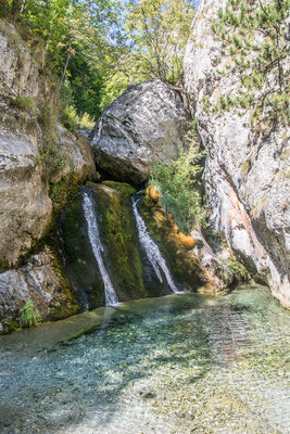 Enipeas Wasserfall, Olympos National Park