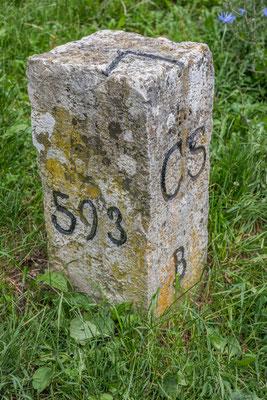 Der nördlichste Grenzstein der Schweiz, Nr. 593