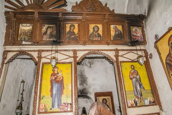 Die heilige Höhle von Agios Dionysios