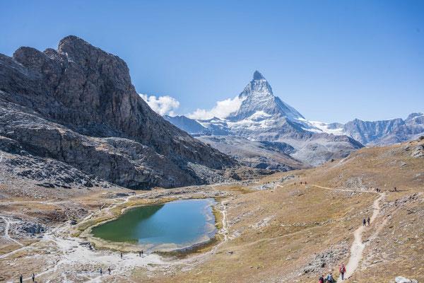 Riffelsee mit Matterhorn
