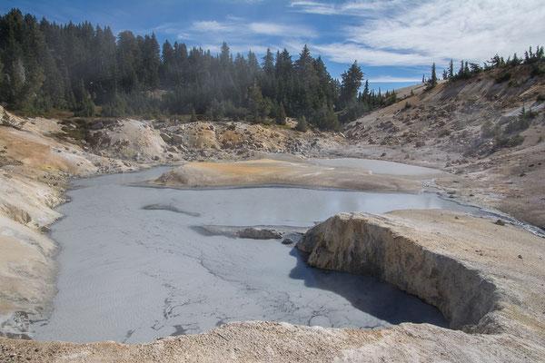 Bumpass Hell, geothermisches Gebiet