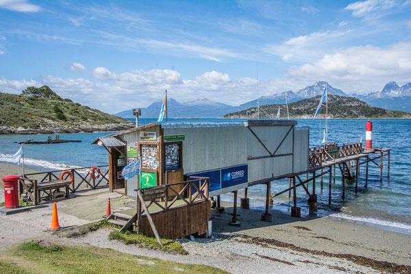 Das südlichste Postbüro Argentiniens