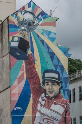 Immer noch verehrt: Ayerton Senna