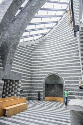 San Giovanni Battista in Mogno, ein weiteres Werk von Mario Botta