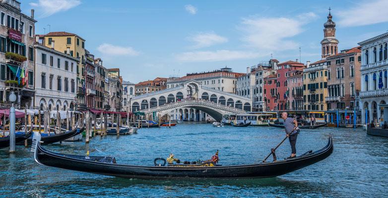 Schifffahrt durch den Canale Grande