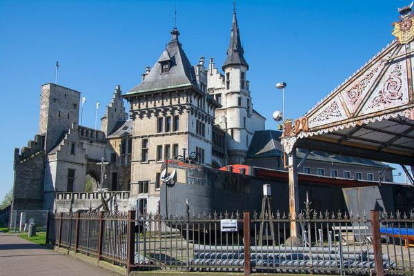Hetsteen, eines der ältensten Gebäude Antwerpens