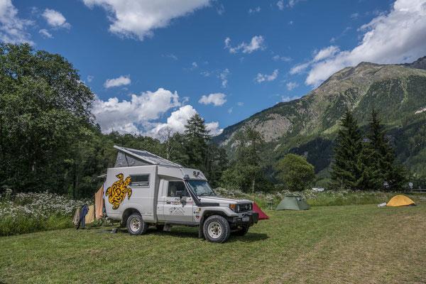 Campinglatz Gul Zernez