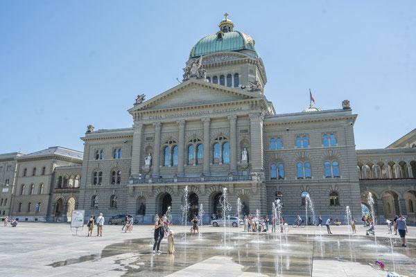 Bundeshaus, das Schweizer Parlamentsgebäude