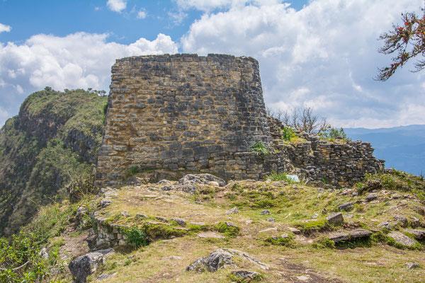 Der Wachturm im Norden der Anlage