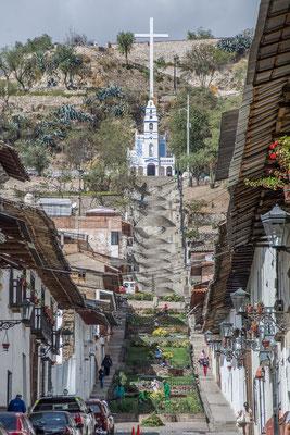 In der Altstadt von Cajamarca