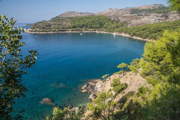 Traumhafte Bucht an der lykischen Steilküste