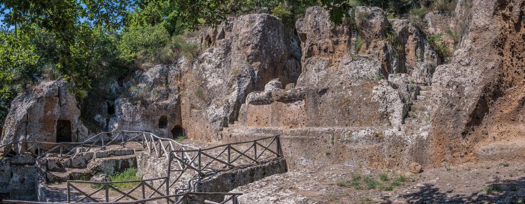 Etruskische Grabstätte, Necropoli die Sovana