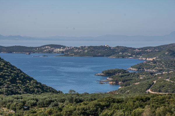 Küste bei Karavostasi