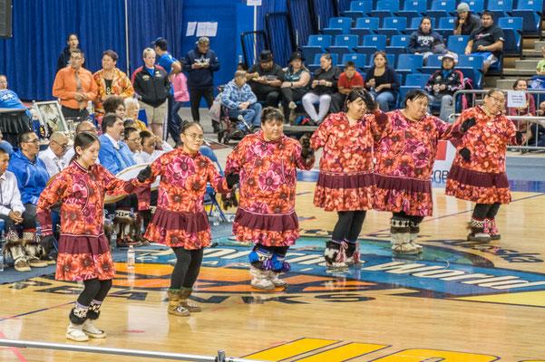 Eskimo dancers