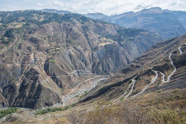 Und dann geht es wieder 1000 m hoch nach Pallasca