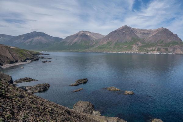 Küste bei Borgarfjörður