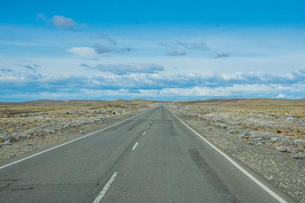 Weites, flaches Patagonien