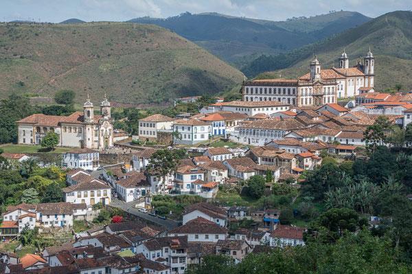 Blick zurück nach Ouro Preta