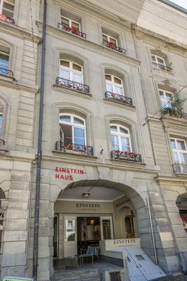 Einsteinhaus, hier lebte der berühmte Wissenschaftler während seiner Zeit in Bern