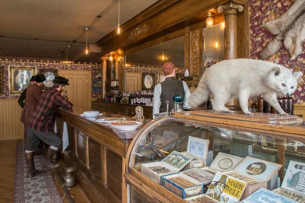 Museumsbar in Skagway