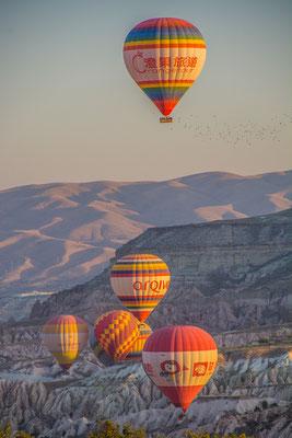 Ballone in Kappadokien
