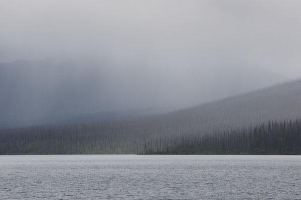 Kommt mehr Regen am McDonald Lake