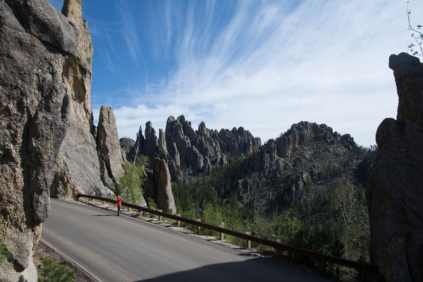 Aussicht am Needles Highway