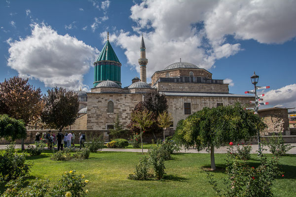 Mevlana Kloster in Konya