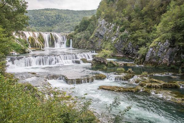 Strbacki Wasserfälle, Una National Park