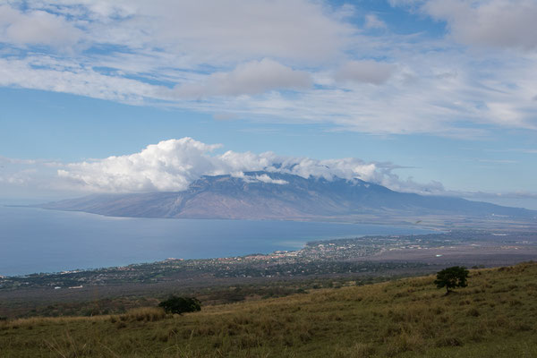 Aussicht auf dem Weg zum Haleakala Vulkan