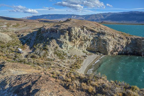 Traumhafter Stellplatz am Lago Posadas