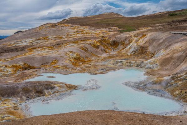 Geothermisches Gebiet Leirhnjúkur