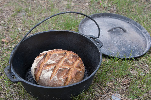 Das Brot hingegen war fast perfekt