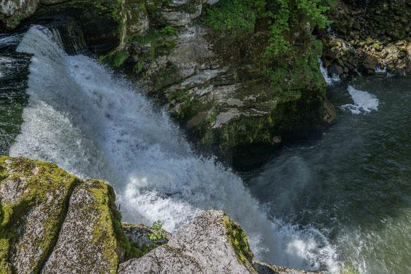 Saut du Doubs bei Les Brenets