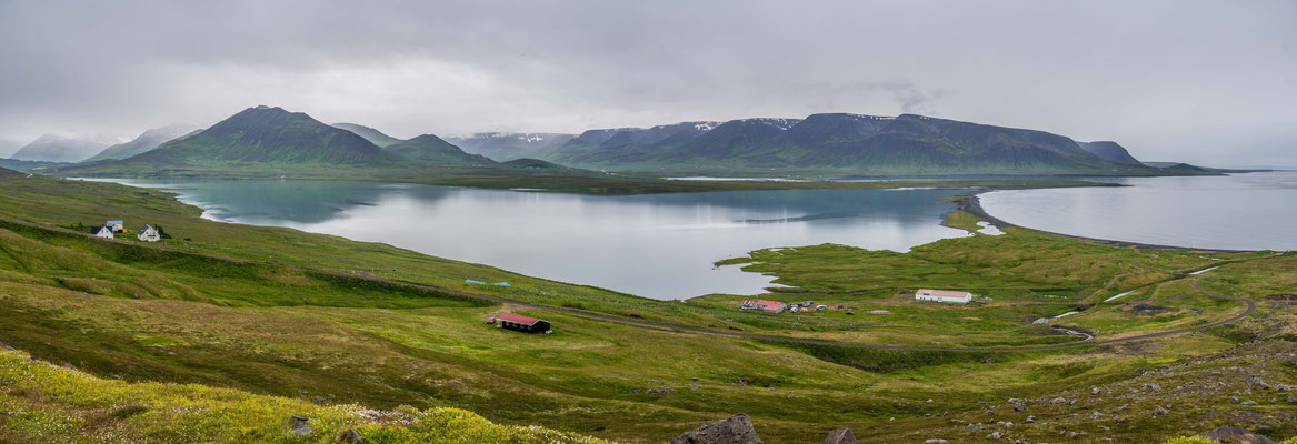 Landschaft bei Hofstadir