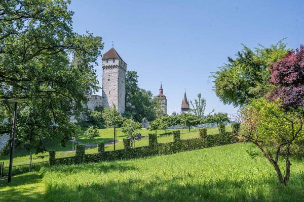 Stadtmauer von Luzern