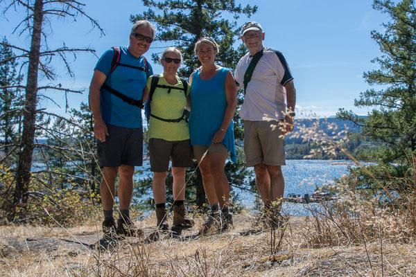 Gruppenfoto mit Reiseleiter