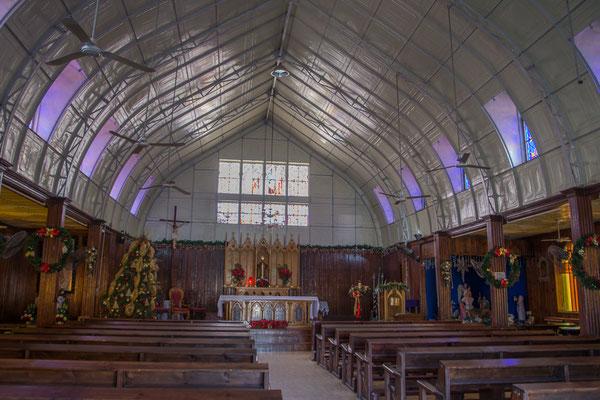Santa Rosalia, Kirche von Gustave Eiffel entworfen