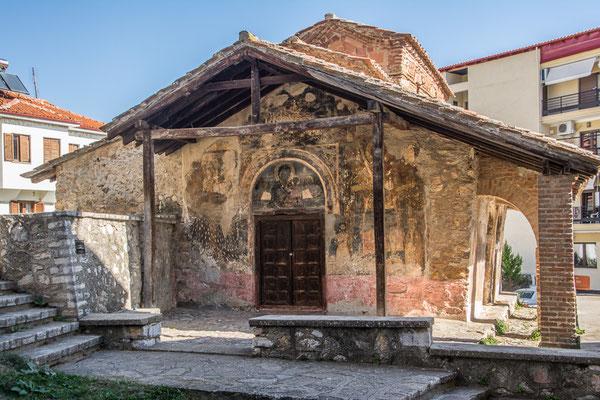 Tempel des Taxis Metropolis dem 10.-11. Jahrhundert.