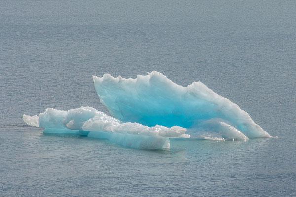 Eisberg auf dem Portage Lake