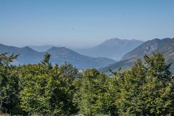 Auf dem Pass bei Prevalle