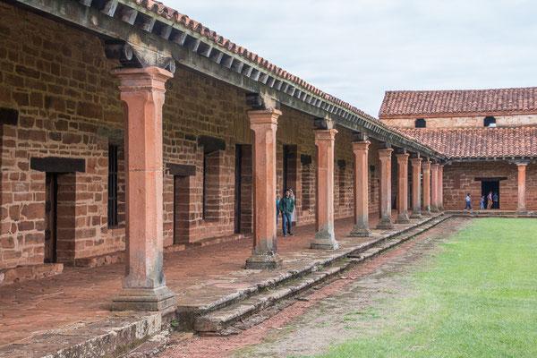 Ruinen von San Cosme y Damián