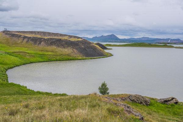 Mývatn, der Mückensee, Skútustaðagígar