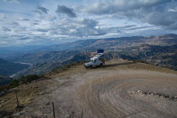 Unser Camp hoch über Huamachuco